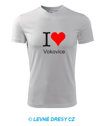 Tričko I love Vokovice
