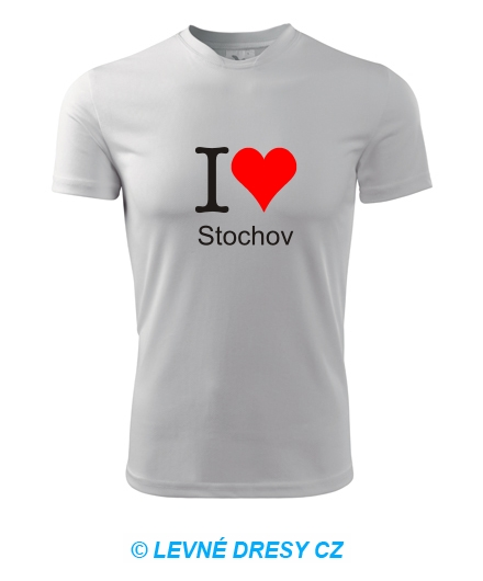Tričko I love Stochov